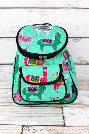 No Prob-Llama Quilted Petite Backpack