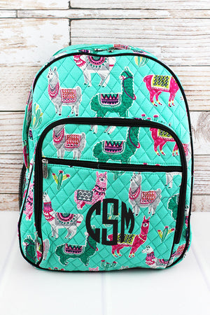 No Prob-Llama Quilted Oversized Backpack