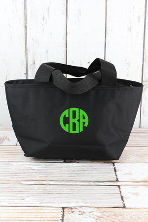 Black Insulated Lunch Bag
