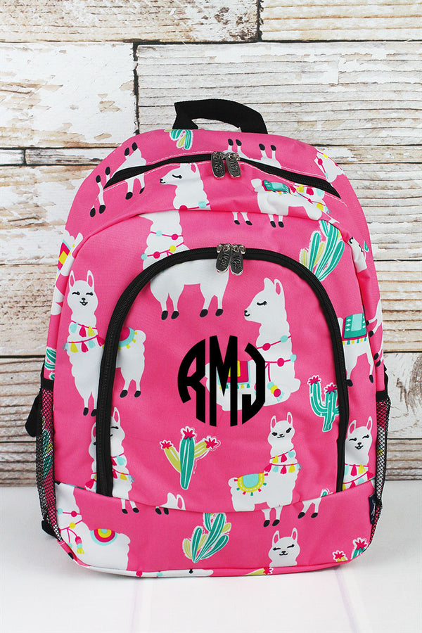 NGIL Llovely Llamas Large Backpack