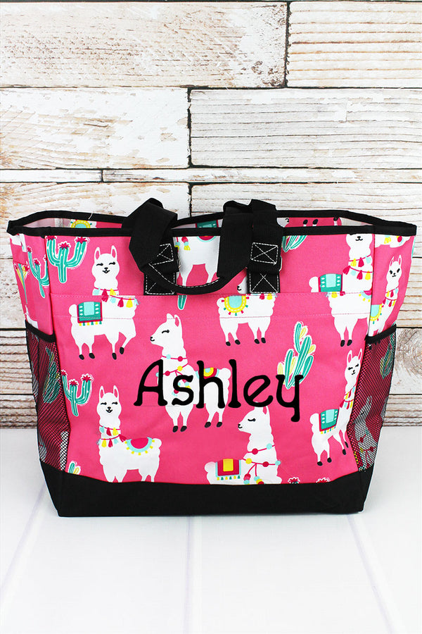 NGIL Llovely Llamas Everyday Organizer Tote
