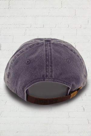 Washed Purple Baseball Cap #LP101