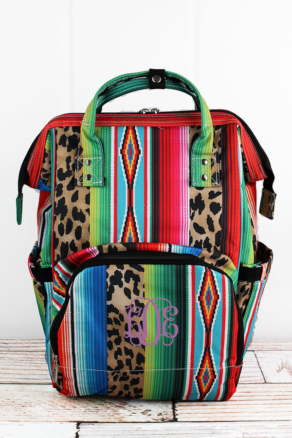 Wild Serape Diaper Bag Backpack