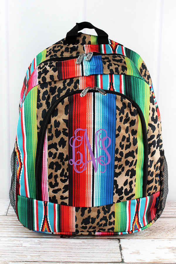 Wild Serape Large Backpack
