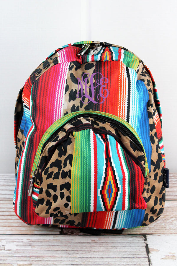 Wild Serape Small Backpack