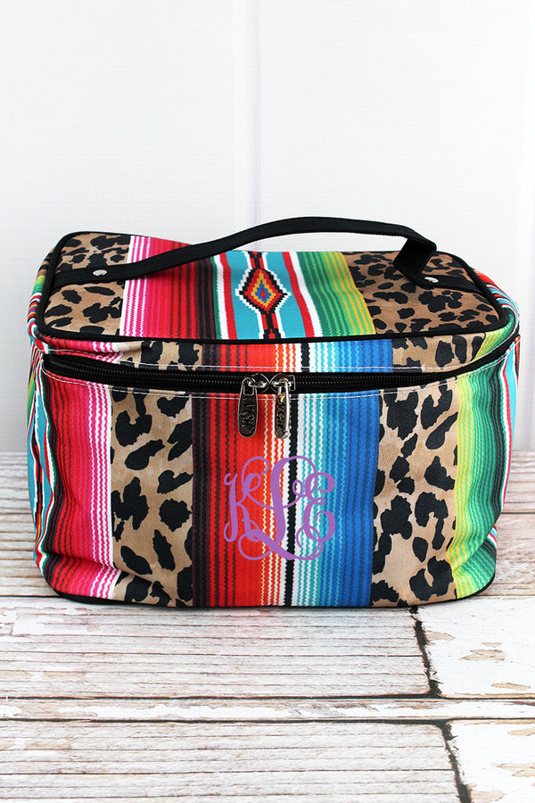 Wild Serape Train Case