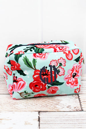 Painted Posies Cosmetic Case