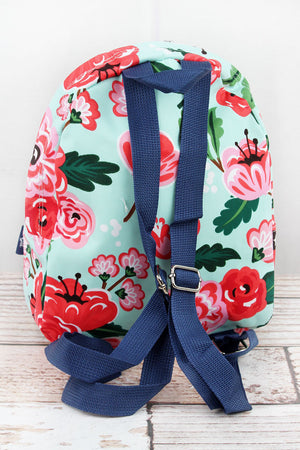 Painted Posies Small Backpack