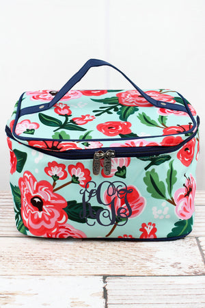 Painted Posies Train Case