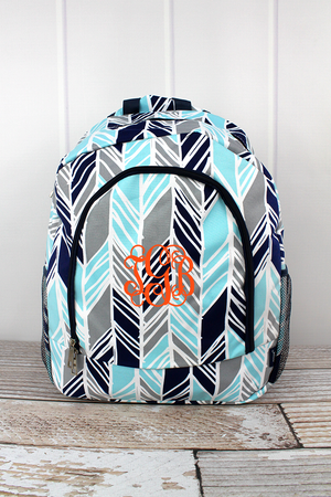 Seaside Stripes Large Backpack