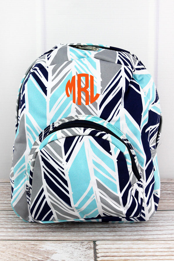 Seaside Stripes Small Backpack