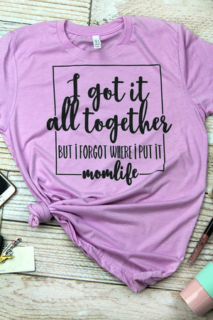 Got It Together Mom Tri-Blend Short Sleeve Tee