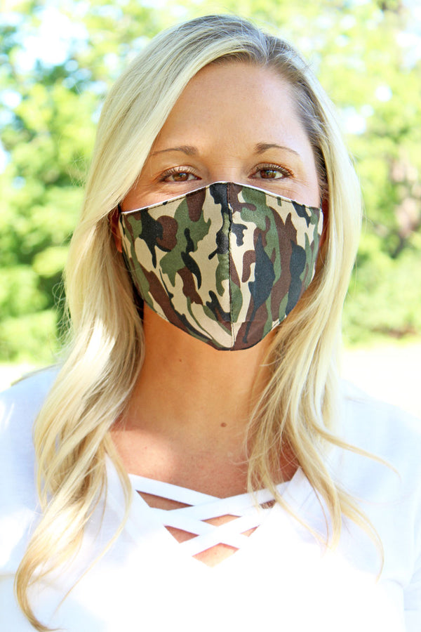 Camouflage Fashion Face Mask