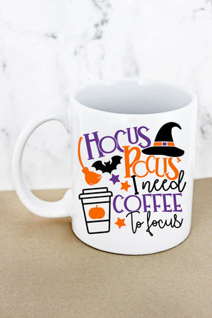 Hocus Pocus Coffee White Mug