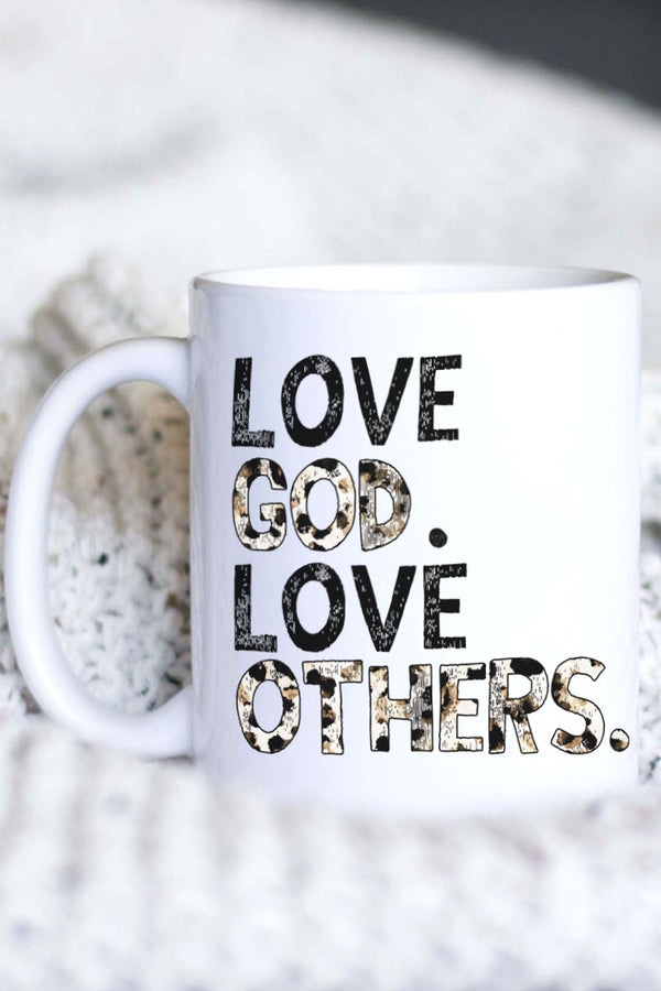 Love God Love Others White Mug