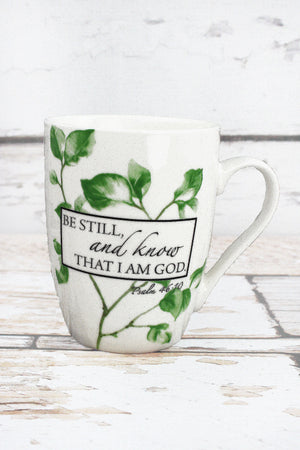 Psalm 46:10 'Be Still' Mug