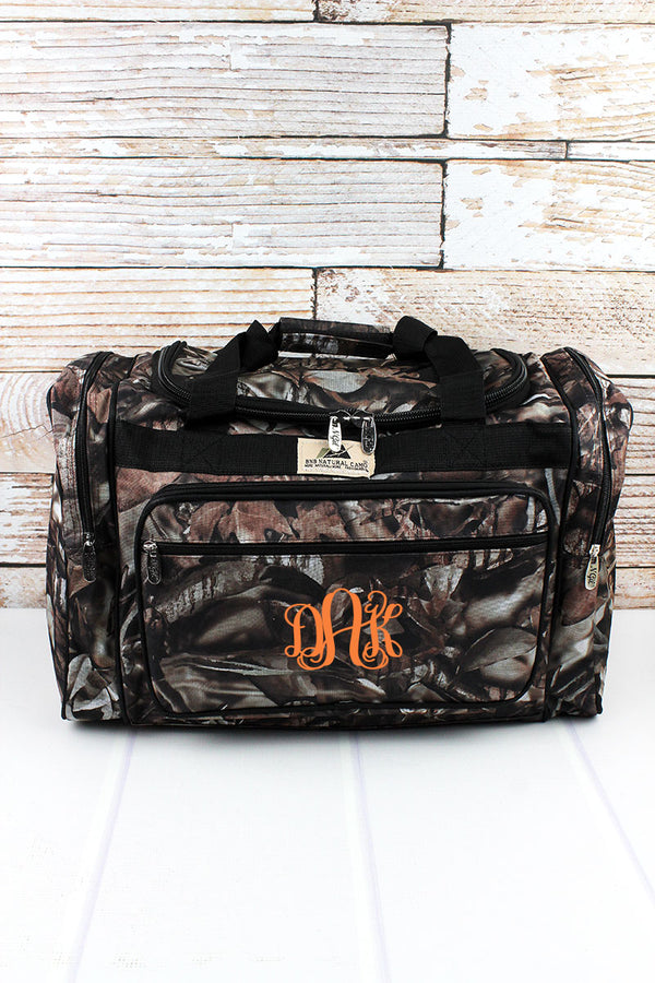 BNB Natural Camo Duffle with Black Trim 20""