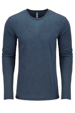 Next Level Tri-Blend Long-Sleeve Men's Cut Crew Tee *Personalize It!