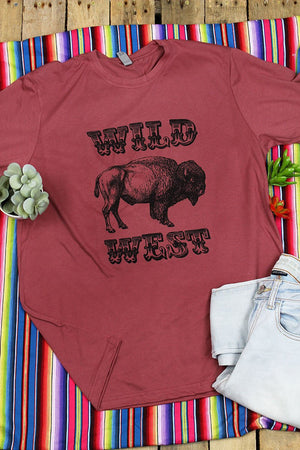 Wild West Poly/Cotton Tee