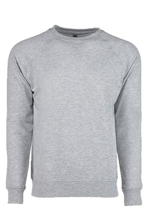 Next Level Unisex French Terry Raglan Crew *Personalize It
