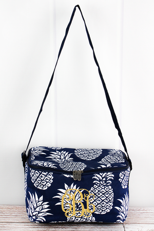 Pineapple Paradise Insulated Shoulder Lunch Bag
