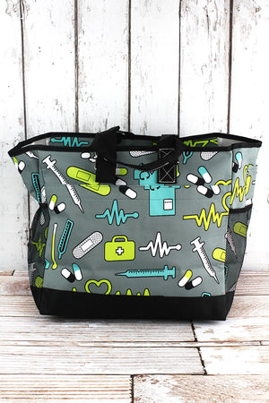 Nurse Life Everyday Organizer Tote