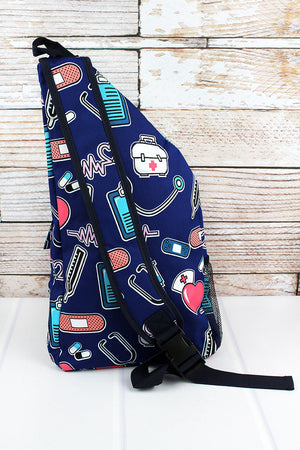 Nurse Love Sling Backpack