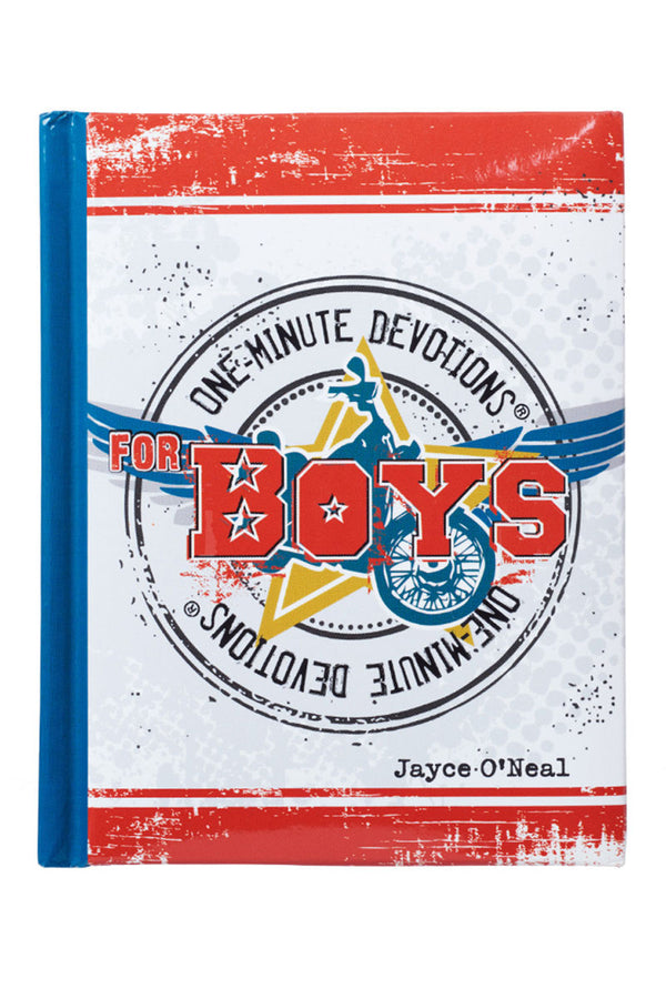 One-Minute Devotions For Boys by Jayce O'Neal