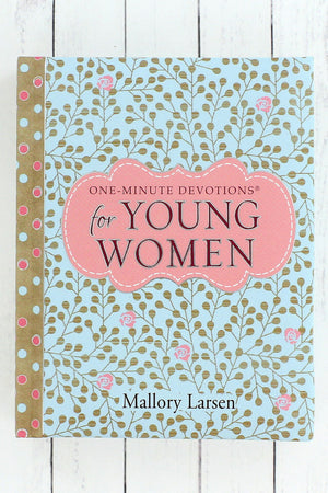 One-Minute Devotions for Young Women by Mallory Larsen #OM058