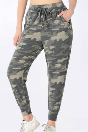 Dusty Camouflage Joggers Sweatpants
