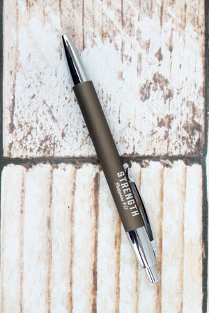 Philippians 4:13 'Strength' Pen in Gift Box