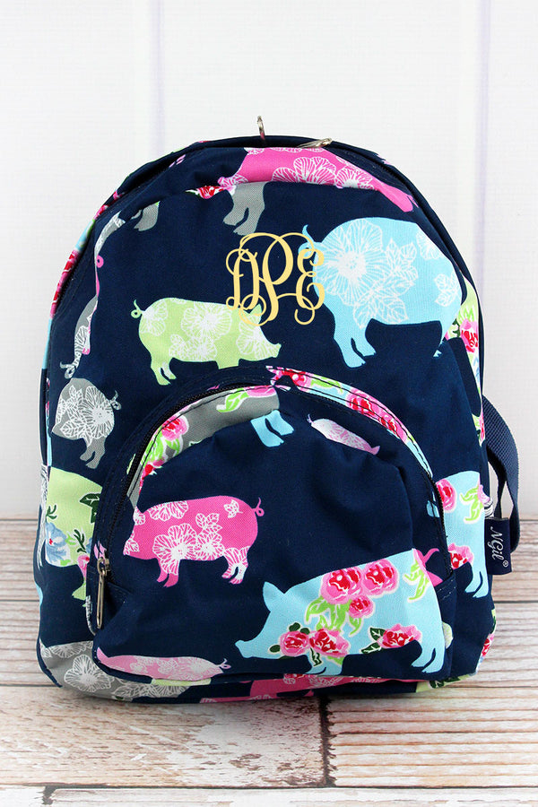 Posh Pigs Small Backpack