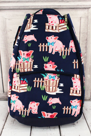 Playful Pigs Tennis Backpack