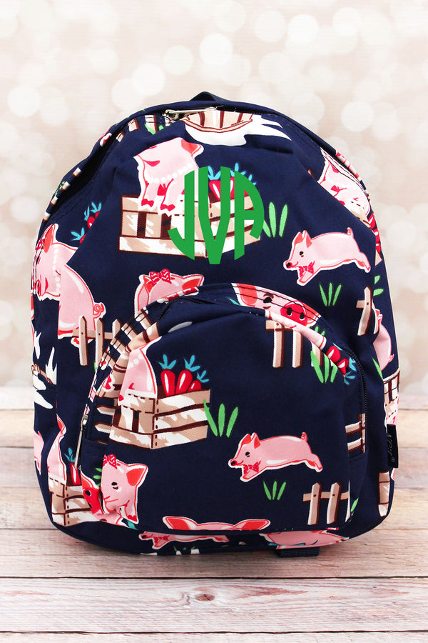 Playful Pigs Small Backpack