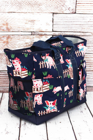 Playful Pigs Everyday Organizer Tote