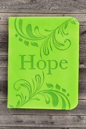 Green LuxLeather 'Hope' Pocket Inspirations