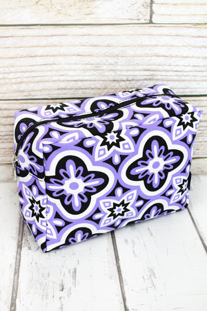Floral Serenity Cosmetic Case