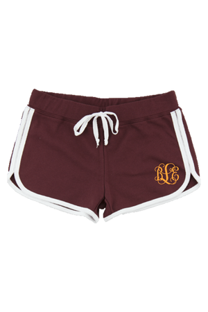 Boxercraft Ladies Relay Short, Maroon and White