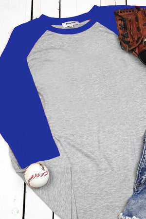 Baseball Love Of The Game 3/4 Sleeve Raglan Tee