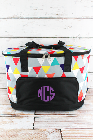 Prism Pop and Black Cooler Tote with Lid