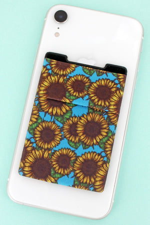 Sunflower Sky Phone Pocket