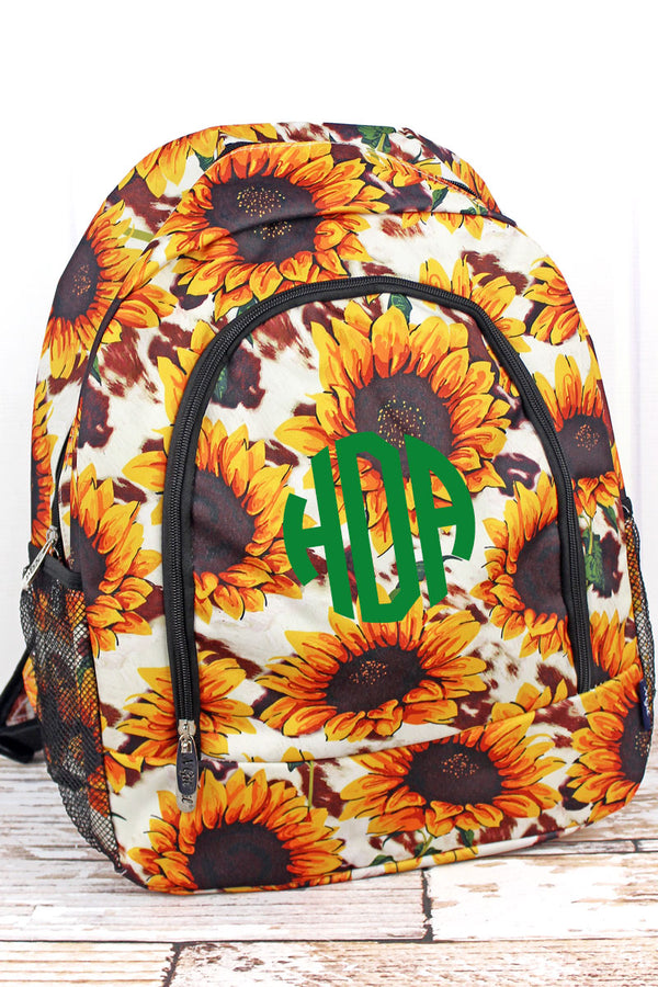 Sunflower Farm Large Backpack