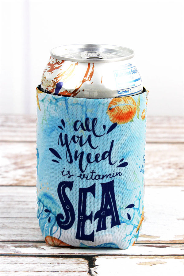 Sea Life 'All You Need Is Vitamin Sea' Drink Sleeve