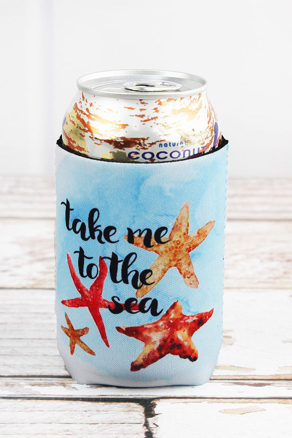 Starfish 'Take Me To The Sea' Drink Sleeve