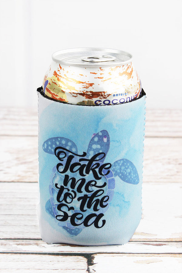Turtle 'Take Me To The Sea' Drink Sleeve