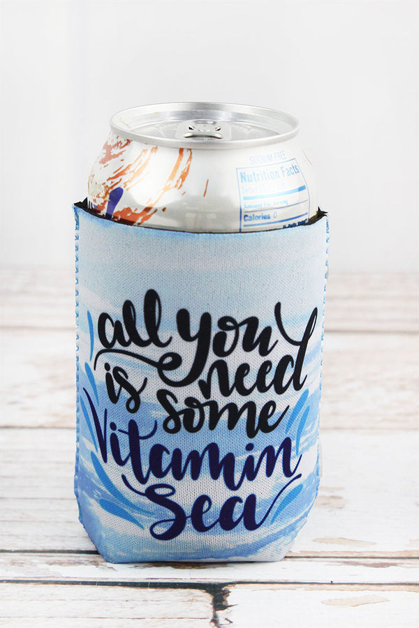 Blue Waves 'All You Need Is Some Vitamin Sea' Drink Sleeve