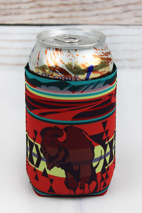 Navajo Buffalo Drink Sleeve