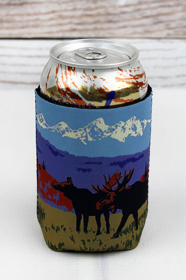 Rocky Mountain Moose Drink Sleeve