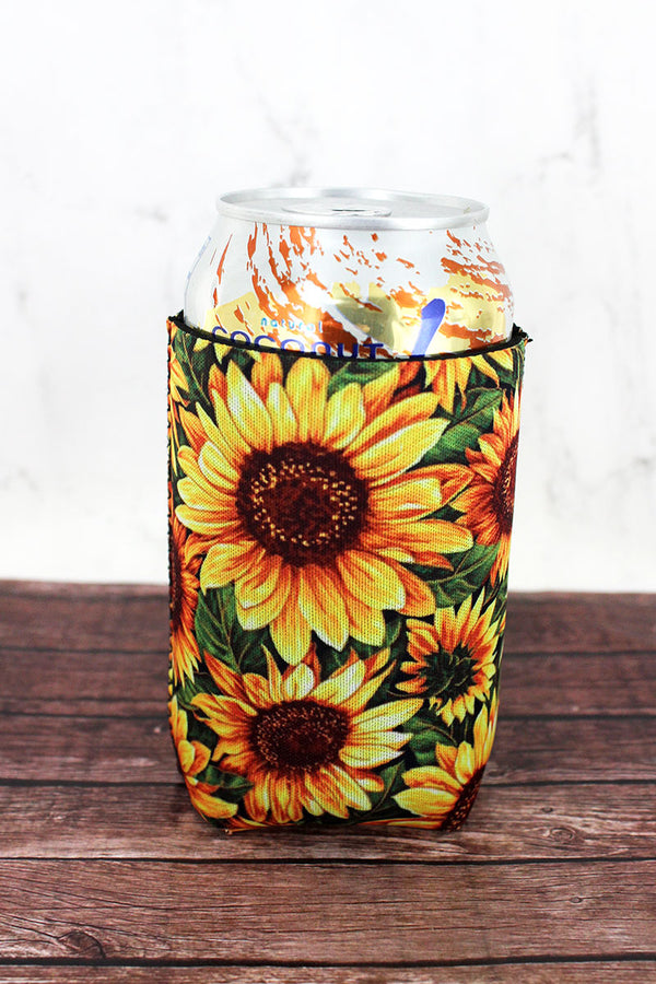Wild Sunflower Drink Sleeve