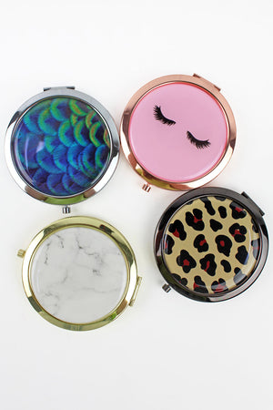 One Fashion Compact Mirror - SHIPS ASSORTED